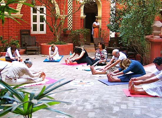 Yoga sessions at Ranjits Svaasa Amritsar