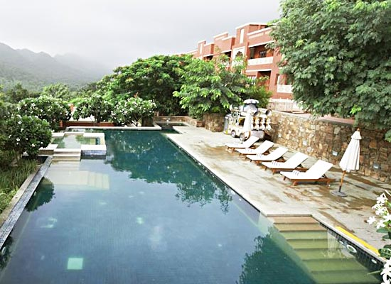Club Mahindra Fort kumbhalgarh pool view