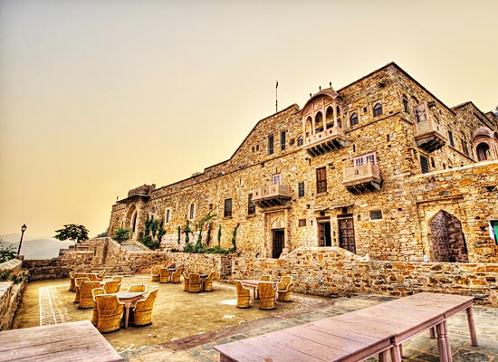 Dadhikar Fort alwar facade