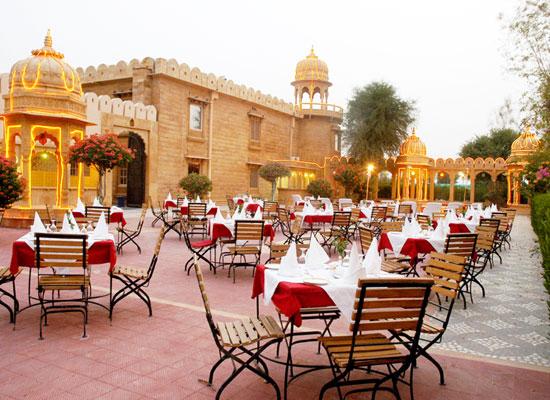 Deoki Niwas Palace jaisalmer sitting area