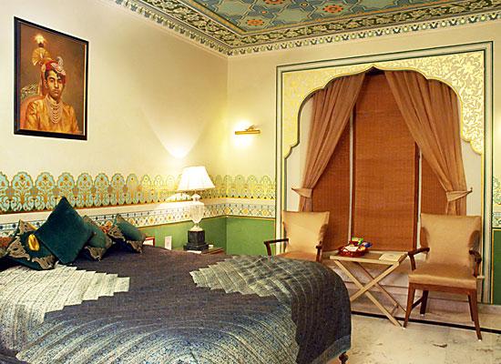 Deoki Niwas Palace jaisalmer bedroom