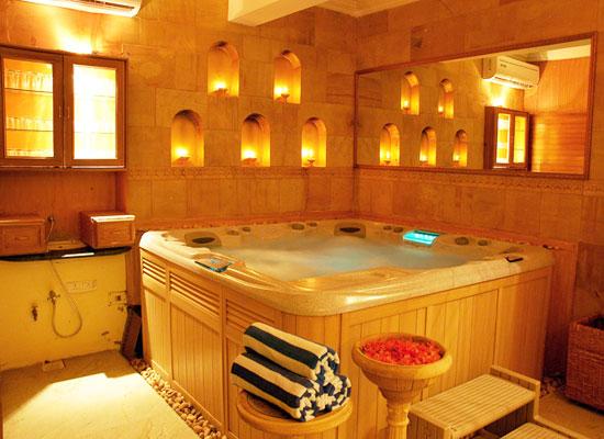 Deoki Niwas Palace jaisalmer spa and ayurveda therapies room