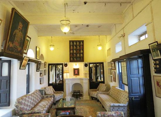 Fort Begu Chittorgarh Sitting Area