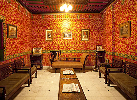 Harasar Haveli Bikaner Sitting Area