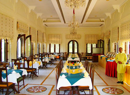 Restaurant at The Bagh Bharatpur, Rajasthan