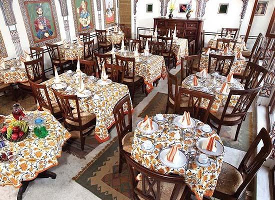 Mandawa Haveli Jaipur dining area