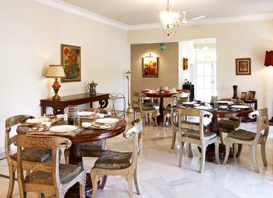 Barwara Kothi Jaipur Dining
