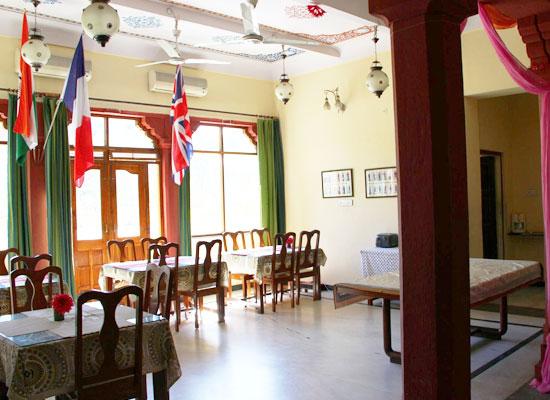 Devi Niketan jaipur dining area