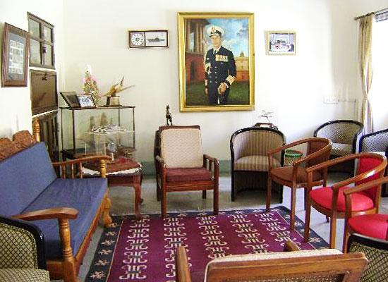 Devi Niketan jaipur sitting area