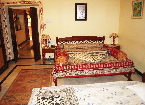 Devi Niketan jaipur bedroom