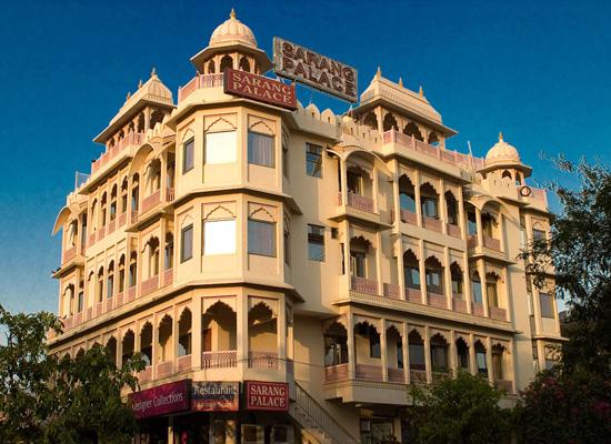 Hotel Sarang Palace jaipur facade