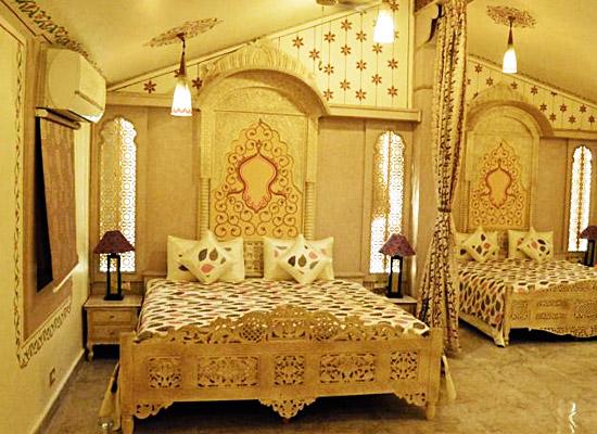 Chokhi Dhani Resort jaipur bedroom
