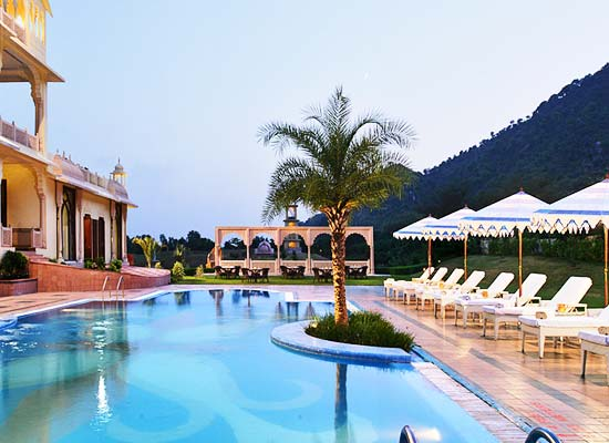 Swimming Pool at Rajasthali Resort and Spa