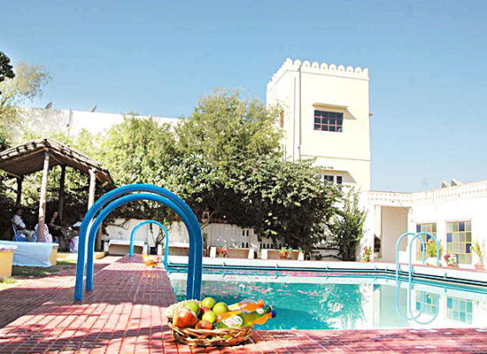 Swimming Pool at Jamuna Resort Jhunjhunu, Rajasthan
