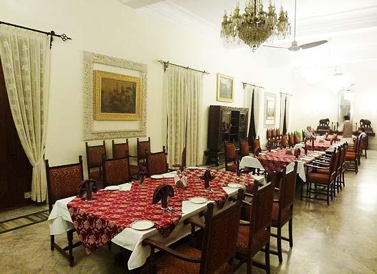 Naila Bagh Palace jaipur dining room