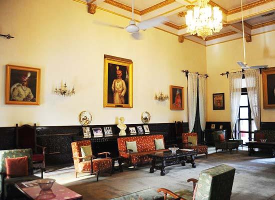 Naila Bagh Palace jaipur sitting area