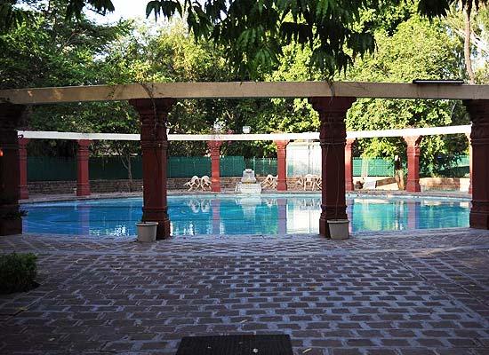 Naila Bagh Palace jaipur poolside