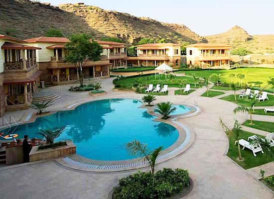 Marugarh Resort Jodhpur pool view