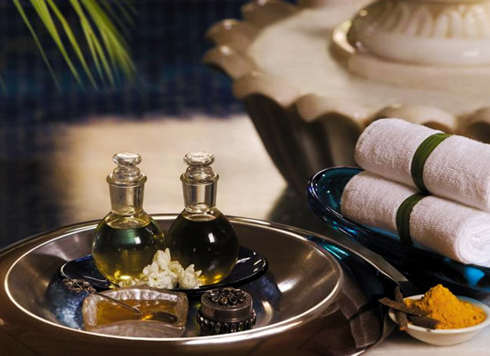 Spa therapies at Taj Hari Mahal Jodhpur