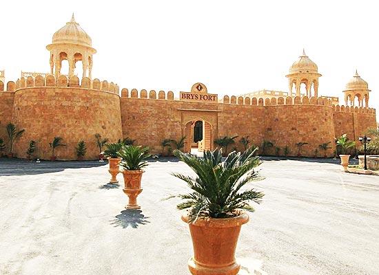 Brys Fort Jaisalmer Facade