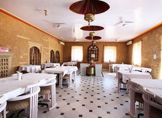 Himmatgarh Palace jaisalmer dining room