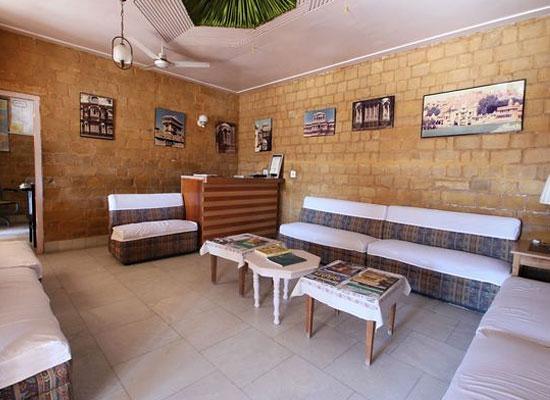 Himmatgarh Palace jaisalmer living room
