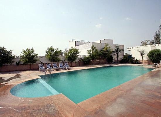 hotel surya vilas palace bharatpur pool view
