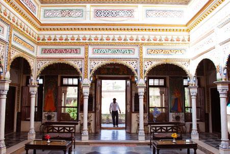 Hotel Heritage Mandawa shekhawati inside view