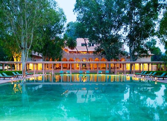 Aman Bagh Alwar Poolside