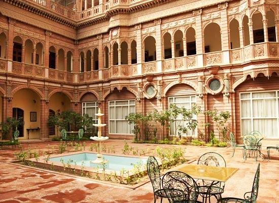 Bhanwar Niwas Palace Bikaner Inside