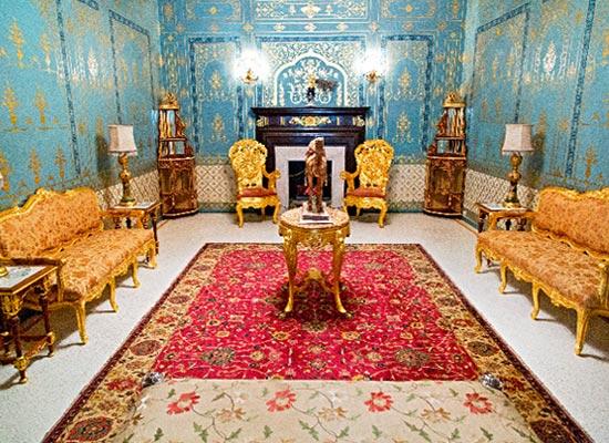 Bhanwar Niwas Palace Bikaner Sitting Area