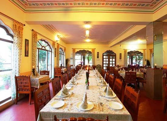 Dining Area at Pushkar Fort Pushkar