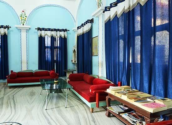 Sitting Area at Pushkar Heritage