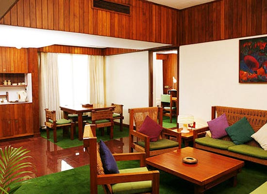 Casino Hotel kochi  room sitting area