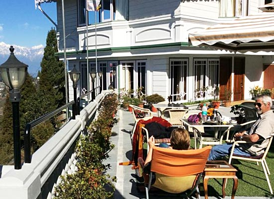 Dekeling Resort darjeeling balcony view
