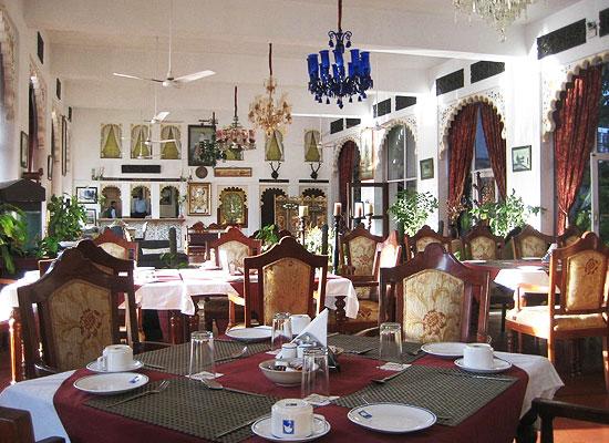 Lake Pichola Hotel udaipur dining area
