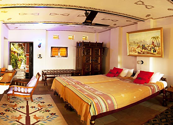 Bundelkhand Riverside room