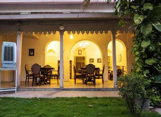 Divan's Bungalow ahmedabad bacony facade