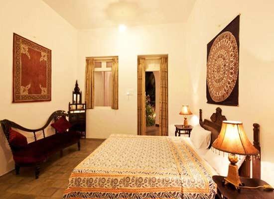 Divan's Bungalow ahmedabad luxury bedroom