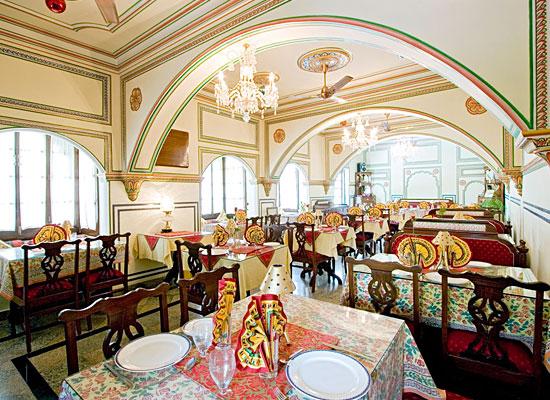 Hotel Madhuban jaipur dining room