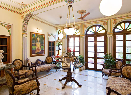 Hotel Madhuban jaipur sitting area
