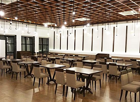 Hotel Aram jamnagar dining area