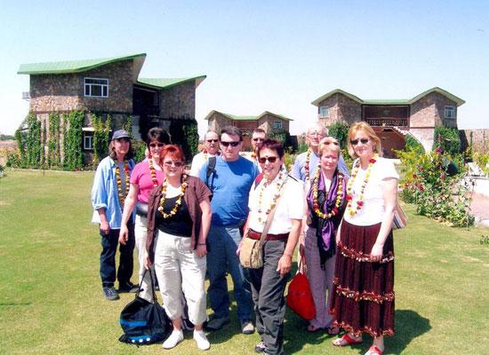 Guests at Ranthambore Forest Resort Sawai Madhopur