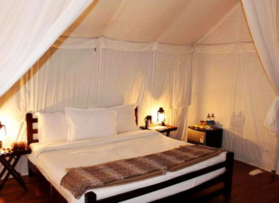 bedroom of Ranthambore Forest Resort Sawai Madhopur