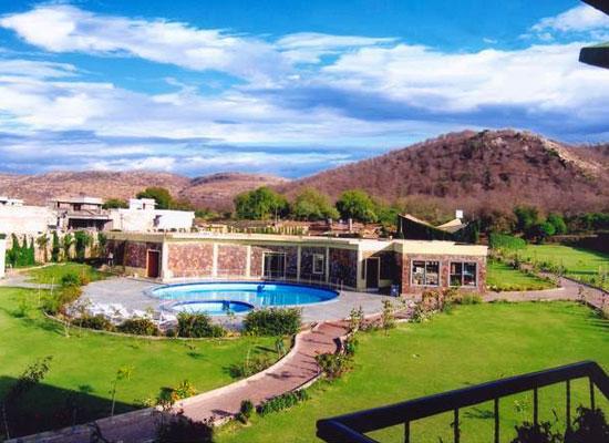 Garden View of Ranthambore Forest Resort Sawai Madhopur