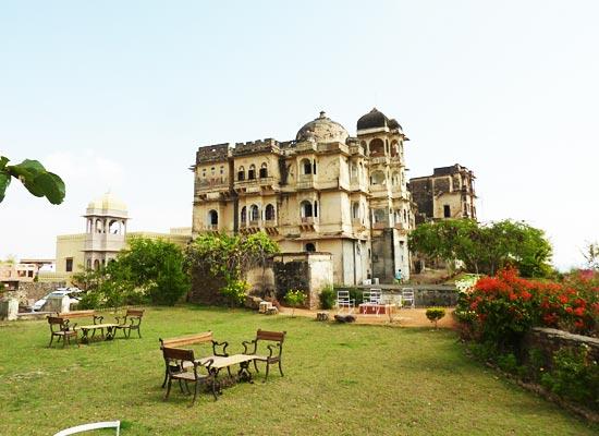 Bhainsrorgarh Fort Kota, Rajasthan outside