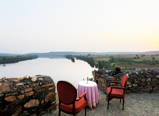Bhainsrorgarh Fort in Kota, Rajasthan