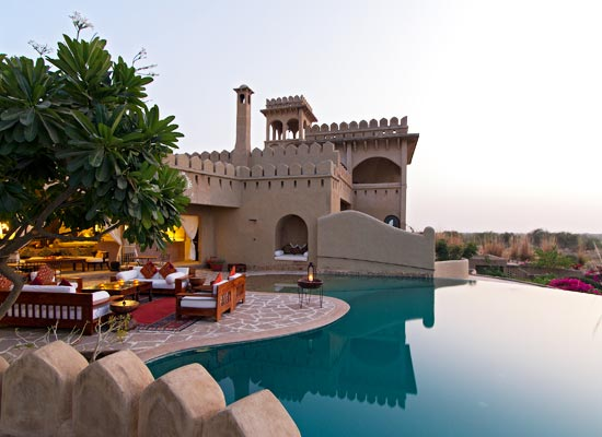 Mihir Garh jodhpur lake view