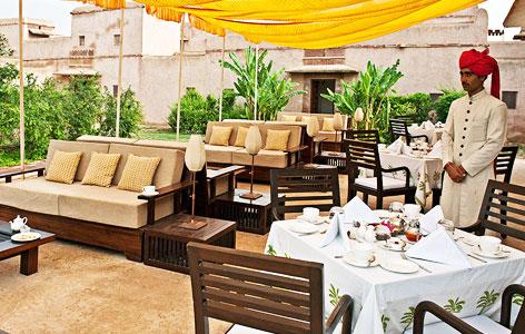 Restaurant at Ranvas Nagaur, Rajasthan