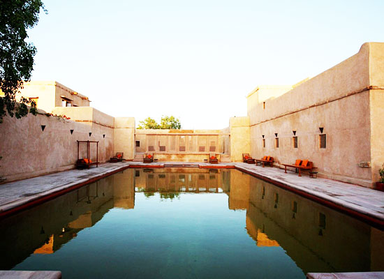Swimming Pool at Ranvas Nagaur, Rajasthan